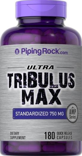 Tribulus Max Standardized Extract 750 mg 180 Caps