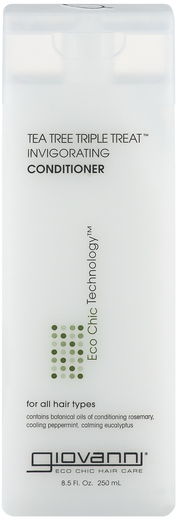 Giovanni Triple Tea Tree Conditioner 8.5 fl oz (251 mL) Bottle