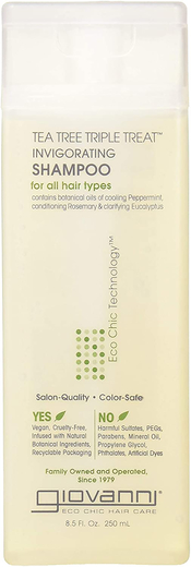 Tea Tree Triple Treat Shampoo 8.5 fl oz
