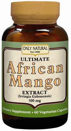 Ultieme Afrikaanse mango 60 Vegetarische capsules