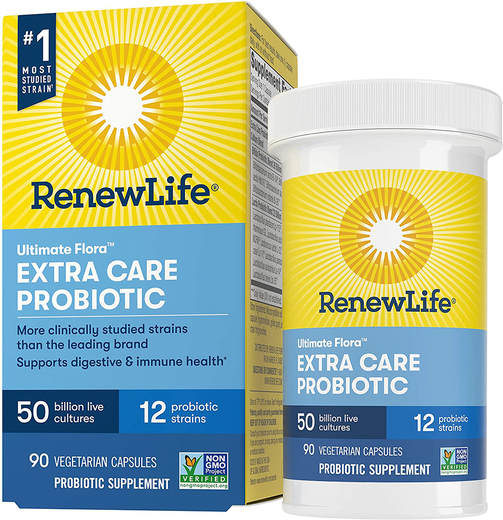 Ultimate Flora Extra Care Probiotic 50 Billion, 90 Caps