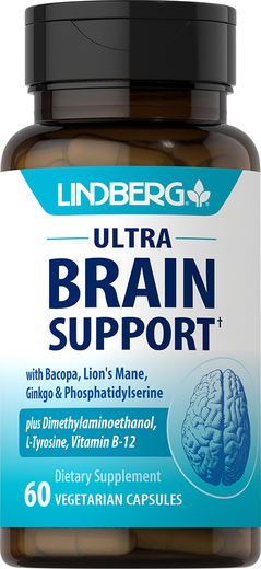 Ultra Brain Support, 60 Veg Capsules