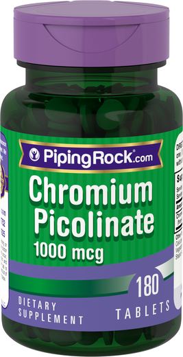 Picolinato de cromo Ultra  180 Tabletas