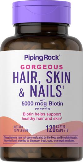 Cabelo, pele e unhas Ultra, 120 Comprimidos oblongos revestidos