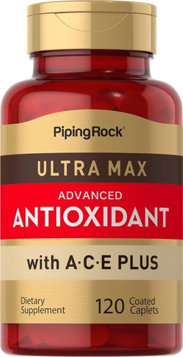 ウルトラ マックス抗酸化物質 120 コーティング カプレット
