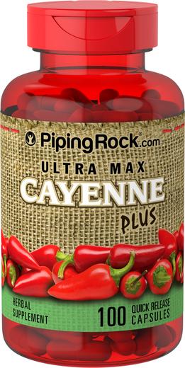 Ultra Max Cayenne Plus 100 Capsules