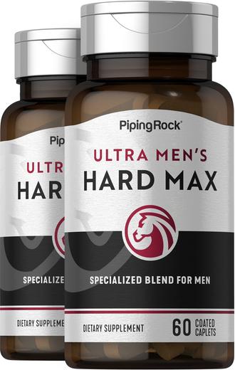 HARD MAX ultra para homens, 60 Comprimidos oblongos revestidos, 2  Frascos