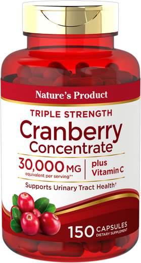 Ultra Triple Strength Cranberry Plus C 30,000 mg, 150 Caps