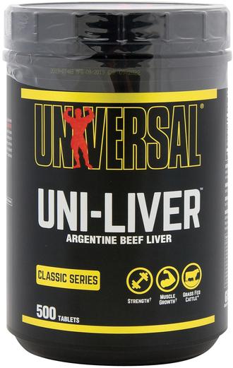 Uni-Liver Wątroba wołowiny argentyńskiej 500 Tabletki