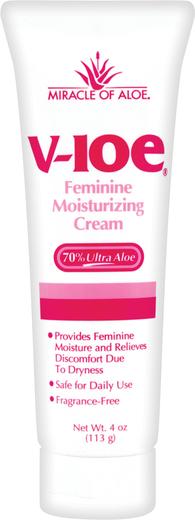Crema y lubricante vaginal V-Loe 4 fl oz (118 mL) Tubo