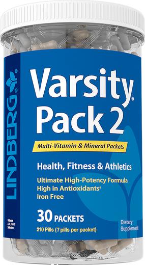 Varsity Pack 2 (zestaw witamin i minerałów) 30 Paczki