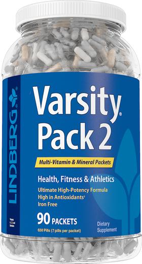 Varsity Pack 2 (Multi-Vitamin & Mineral), 90 Packets