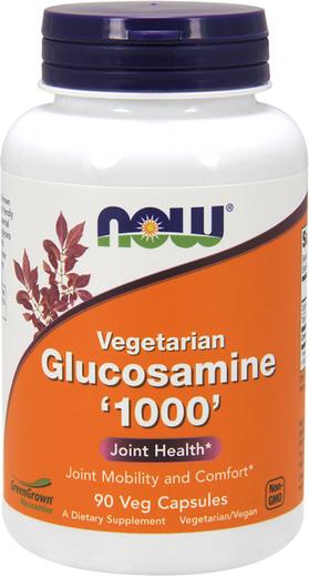 Glucosamina Vegetariana , 1000 mg, 90 Cápsulas vegetarianas