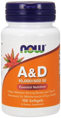 Vitamin A & D3 10,000/400 IU