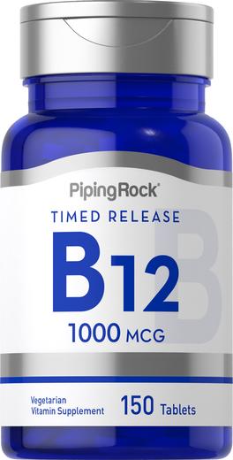 Lançamento da Vitamina B-12 , 1000 mcg, 150 Comprimidos