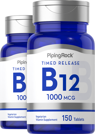 Vitamin B-12 1000 mcg Timed Release 150 Tablets