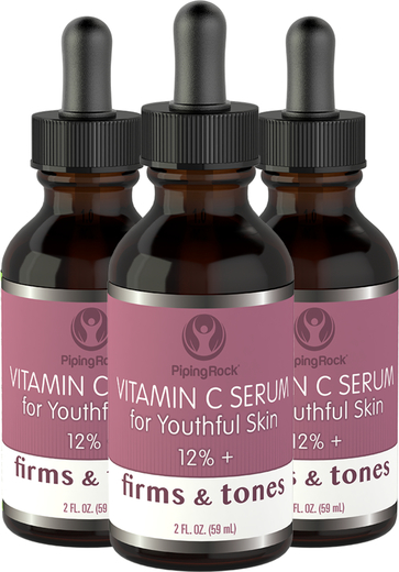 Serum z witaminą C 12%+ 2 fl oz (59 mL) Butelka z zakraplaczem
