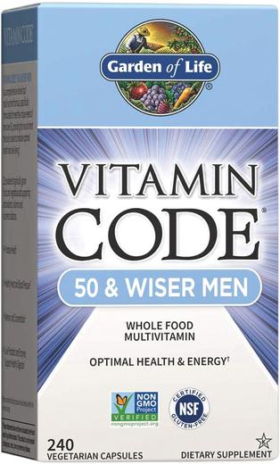 Vitamin Code 50 i Wiser Men Multivitamin 240 Kapsułki wegetariańskie
