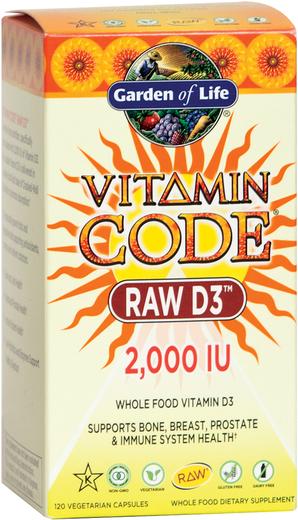 Vitamin Code Raw D3 2000 IU