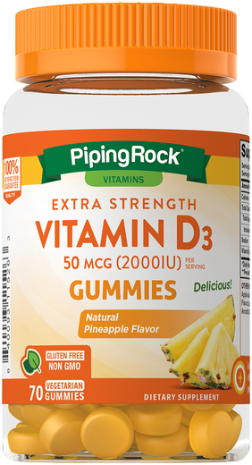 Vitamin D 2000 IU Gummy, 49 Gummy