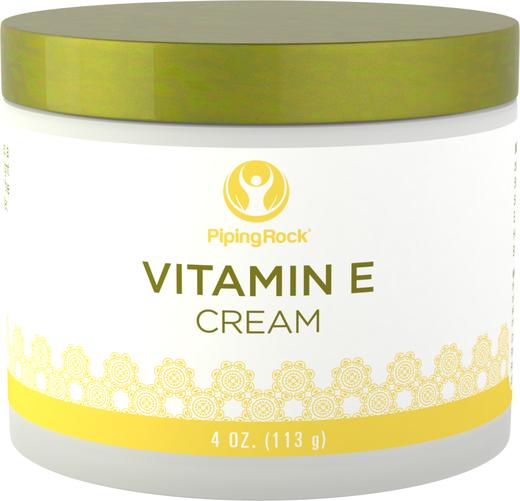 Creme de vitamina E, 4 oz (113 g) Boião