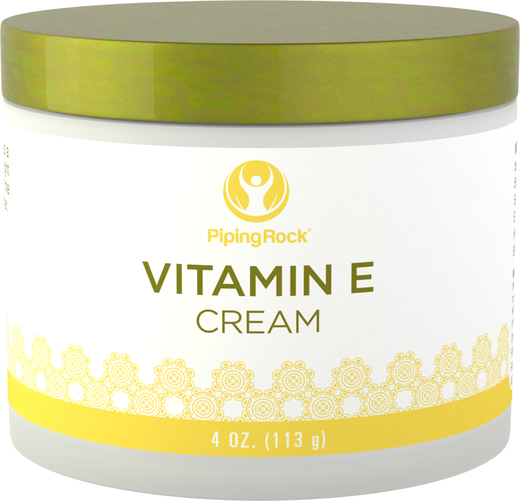 Vitamin E Cream 4 oz (113 g) Jar