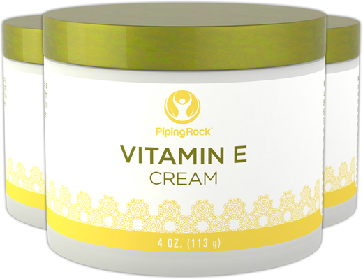 Vitamin E Cream 3 Jars x 4 oz