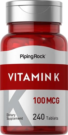 Vitamina K  240 Tabletas