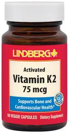 Vitamin K2 75 mcg, 60 Veg Caps