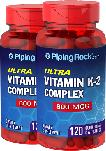 Vitamin K Complex 800mcg 120 Capsules