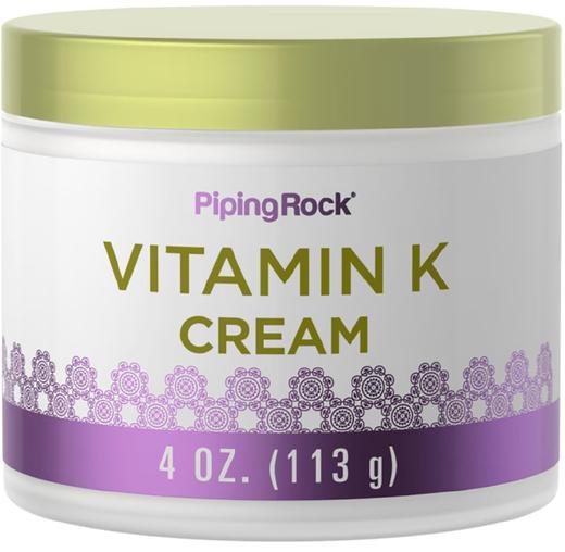 Creme de vitamina K, 4 oz (113 g) Boião
