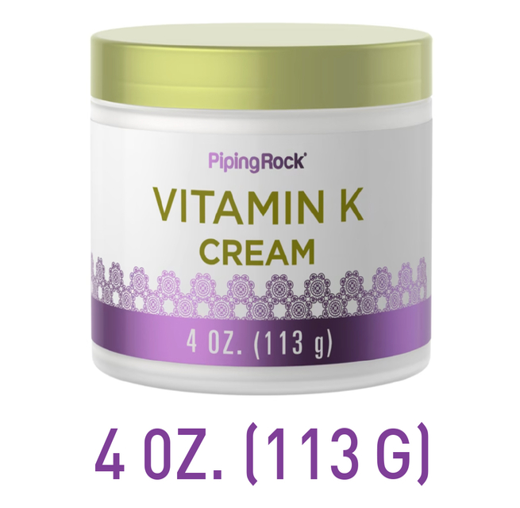 Crema con vitamina K 4 oz (113 g) Tarro