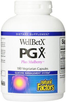 WellBetX PGX Plus Mulberry 180 Veg Capsules