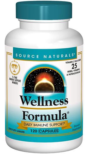 Wellness Formula Advanced Daily Immune Support, 120 Capsules