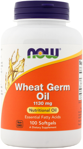 Wheat Germ Oil 1130mg (Cold Pressed) 100 Softgels