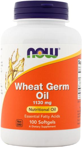 Aceite de germen de trigo (prensado en frío) 100 Perlas