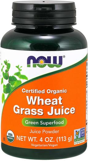 Wheat Grass Juice Powder (Organic), 4 oz. (113 g)