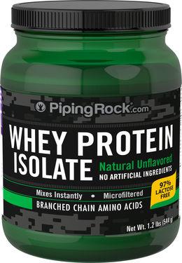 Białko serwatkowe w proszku (bez dodatków smakowych) 1.2 lbs (544 g) Butelka