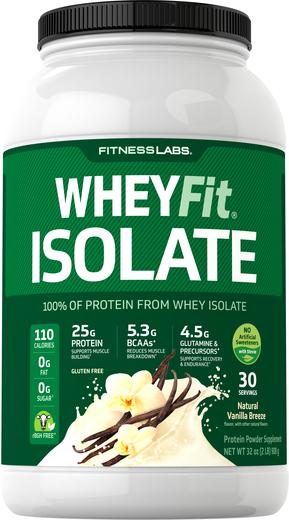 Białko serwatkowe WheyFit Izolat (naturalna wanilia) 2 lb (908 g) Butelka