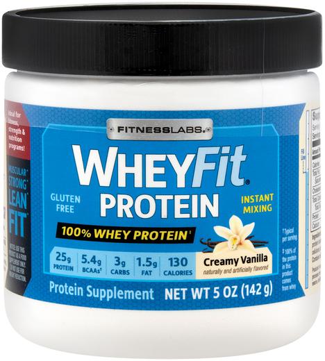 Whey Protein WheyFit (Creamy Vanilla) (Trial Size), 5 oz