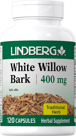 White Willow Bark, 400 mg, 120 Capsules