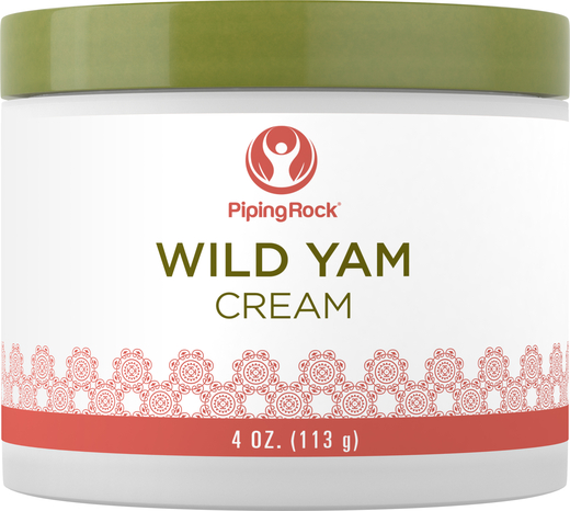 Wild Yam Cream 4 oz Jar
