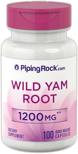 Wild Yam Root Extract 1200 mg 100 Capsules