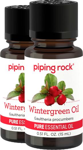 Olejek eteryczny z roślin wiecznie zielonych czystości (GC/MS Sprawdzono) 1/2 fl oz (15 mL) Butelka z zakraplaczem