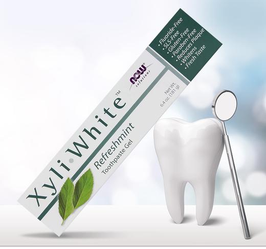 Gel dentífrico Xyliwhite Refreshmint, 6.4 oz (181 g) Tubo