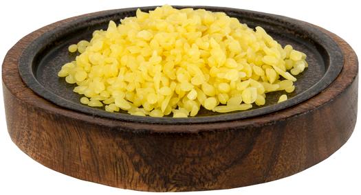 Cera de abelhas amarela para velas, 1 lb (454 g) Saco