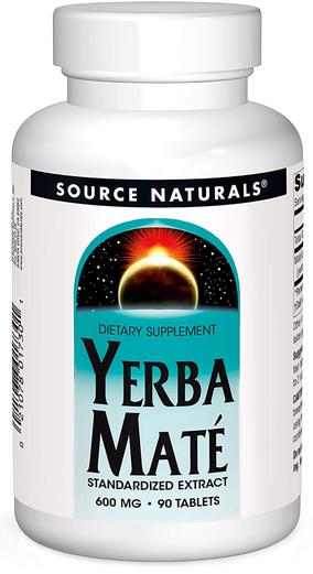 Yerba Mate Extract 600 mg, 90 Tablets
