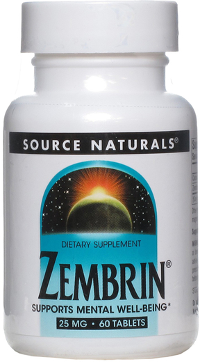 Zembrin , 25 mg, 60 Comprimidos
