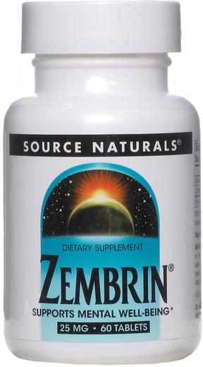 Zembrin 25mg 60 Tablets