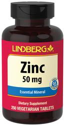 Zinc Gluconate 50 mg, 250 Veg Tabs